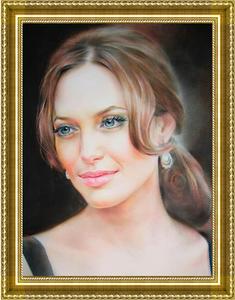 Портрет по фото-подарок   на юбилей,свадьбу,выпускной,годовщину  - Изображение #1, Объявление #1668713