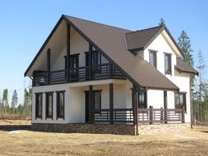 Производство и строительство каркасных домов. Пинск - Изображение #1, Объявление #1685699