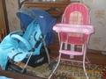 коляска,  стульчик для кормления